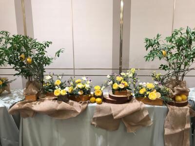 日比谷花壇装花
