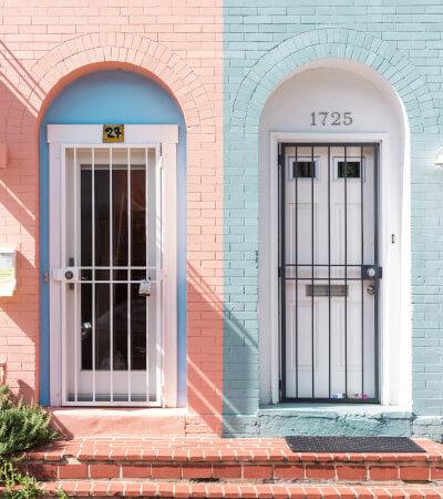 2つのドア