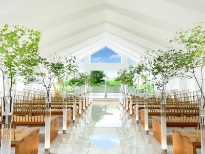 ヒルトン東京ベイでの結婚式の様子