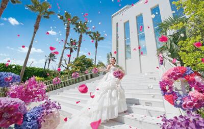 東京ベイ舞浜ホテルでの結婚式の様子