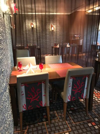 舞浜Teppanyaki+テーブル席