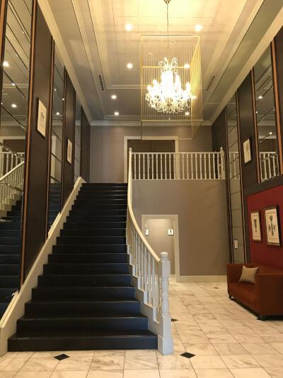 キャラメルマキアートの階段