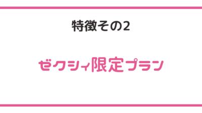【特徴その2】ゼクシィ限定プラン